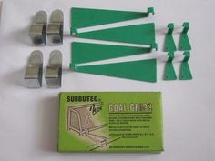 #Subbuteo # q2. #vintage box of goal grips. 1970's #football accessory. scarce. ,  View more on the LINK: 	http://www.zeppy.io/product/gb/2/132004032760/