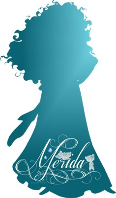 Merida Silhouette - Disney Princess Photo (37757457) - Fanpop