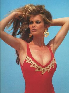 Picture of Claudia Schiffer Claudia Schiffer, 90s Fashion, Fashion Models, Vintage Fashion, Top Models, Irina Shayk, Beautiful Celebrities, Beautiful People, Original Supermodels