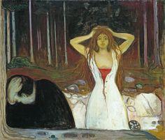 Edvard Munch Poster - Ashes