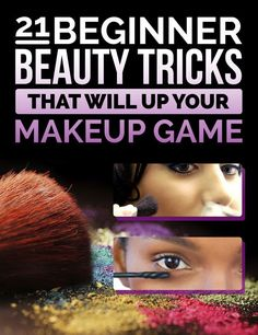 21 Beauty Tricks For Makeup Addicts In Training - Highlighter is gonna change your cheekbones' life. Inspired by our collaboration with Birchbox!