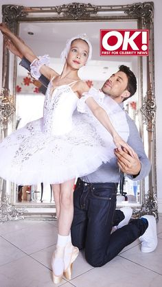 'She's cool with my sexuality': Former Blue singer Duncan James proudly poses with his ballerina daughter Tianie, 11, for their first shoot as he says 'kids today are more accepting'