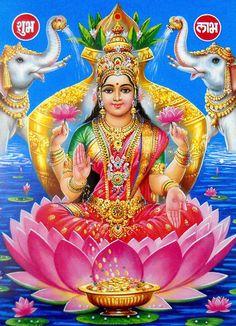 Lakshmi Photos, Lakshmi Images, Shiva Parvati Images, Hanuman Images, Divine Goddess, Kali Goddess, Devi Images Hd, All God Images, Happy Navratri Images