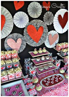 Crissy's Crafts: Wild For You Valentine's Party