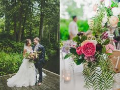 Elegant Rainy Day Wedding Ruffled