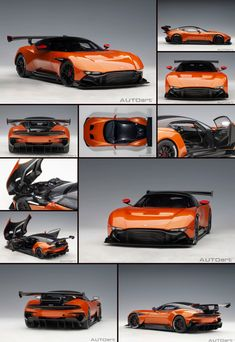 Aston Martin Vulcan Madagascar Orange with Carbon Top Model Car by Autoart Aston Martin Vulcan, David Wood, Love Statue, Roll Cage, Rubber Tires, Top Cars, Diecast Model Cars, Culture Travel, Car Car