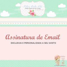 Tenha uma assinatura personalizada de email, com seus dados de contato. Personalize sua marca de forma profissional e elegante.