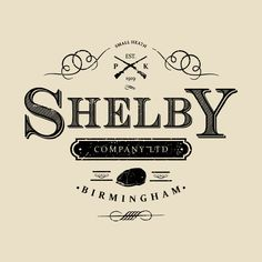 3539bbeb Shop Shelby Company Ltd Logo Peaky Blinders peaky blinders t-shirts  designed by Bevatron as well as other peaky blinders merchandise at  TeePublic.