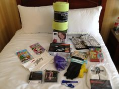 Iconix Swag (war zone) #BlogHer12