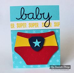 Star Background, You're Super, Oh Baby Die-namics, Sun Moon & Stars Die-namics - Amy Rohl #mftstamps