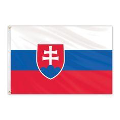 Slovakia Outdoor Nylon Flag #FlagCo #OutdoorFlag #Slovakia