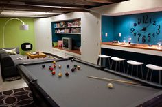 Basement Makeovers for Teenagers | Best Advantage of Basement Remodeling Pictures : Basement Remodeling ...