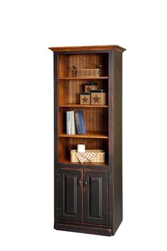 Pine Wood Bookcase with Bottom Doors Distressing options make the Pine Wood Bookcase with Bottom Doors even more of a rustic beauty. Pretty pine is solid wood quality at a fraction of the cost. Pine Furniture, Amish Furniture, Rustic Furniture, Breakfast Food List, Breakfast Recipes, Pine Bookcase, Healthy Food Choices, Office Storage, Cake Plates