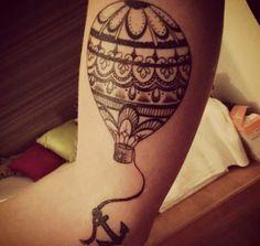 cute balloon tattoo - Pesquisa Google