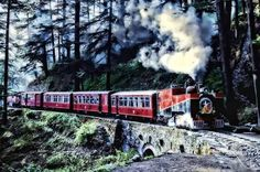 Most #scenice Train Routes In India To Travel If you live in #india, you must be well aware of the Indian Railways. Indian Railways have been providing service for more than 50-years. Travelling through great routes across the country with scenic view is quite delightful moment. Here are a few '#most Scenic #trainroutes In India To #travel'. #asia #asiatravel #indiatravel