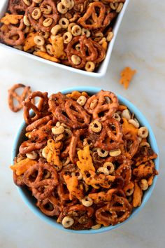 spicy #snack #mix #recipe