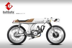Honda Cafe Racer Design by Barbara Custom Motorcycles Triumph Motorcycles, Concept Motorcycles, Honda Bikes, Vintage Motorcycles, Custom Motorcycles, Custom Bikes, Cafe Racer Honda, Inazuma Cafe Racer, Cafe Bike