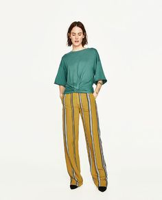 ZARA - WOMAN - TOP WITH FRONT KNOT