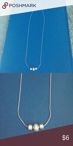 DAINTY SILVER NECK Short silver necklace Jewelry Necklaces