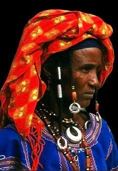 Africa | Portrait of a woman, taken in Gorom Gorom. Burkina Faso | © Michael Sheridan.