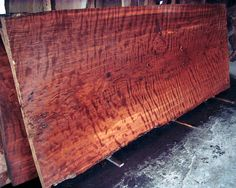 Old Growth Curly Redwood Slab -dining room table Wood Slab Dining Table, Wood Table Design, Metal Barn Homes, Redwood Burl, Wood Lumber, Wood Source, Natural Wood Finish, Petrified Wood, Wood Texture