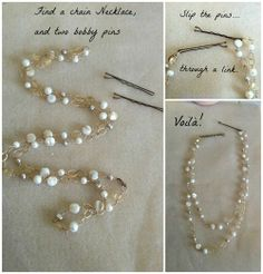 DIY Hair Accessories to Try This Summer Get your beautiful hair ready for summer! Here are DIY Hair Accessories ideas to try today.Get your beautiful hair ready for summer! Here are DIY Hair Accessories ideas to try today. Hair Chains, Do It Yourself Jewelry, Diy Accessoires, How To Make Headbands, Hair Accessories For Women, Summer Accessories, Diy Hair Accessories Easy, Diy Fashion Accessories, Bridal Accessories