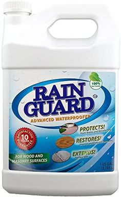 Amazon.com: Rain Guard Water Sealers Advanced Waterproofer Ready to Use 1 Gal, Multi-Surface Sealer with Clear Natural Finish TPC-0001 : Industrial & Scientific Cement Pots, Concrete Cement, Cleaning Pavers, Electrical Outlets, Cleaning Hacks, Diy Furniture, Latex, Restoration, Rain