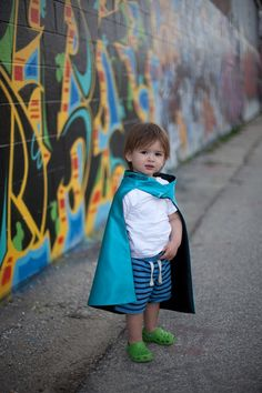 Children SUPER HERO for 18mn4 year olds the shorty by pipandbean