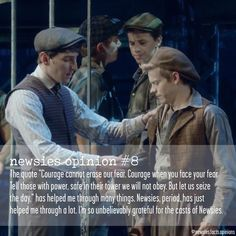 Follow @newsies.facts.opinions Submitted by @cos.jjw99189 DM your opinions and confessions!