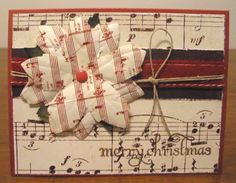 Music Notes Card - Scrapbook.com