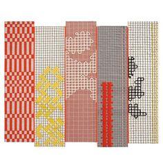 Gandia Blasco Bandas Orange Rug - Style # bandas-orange, Contemporary Rugs - Modern Rug - Modern Carpets - Contemporary Rugs Online - Area Rug | SwitchModern.com