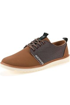 Men's Breathable Low-cut Casual Sneakers Canvas Shoes (Brown) | Price: ฿700.00 | Brand: Unbranded/Generic | From: Top Seller Shoes - รวมรองเท้าแฟชั่น รองเท้าผู้ชาย รองเท้าผู้หญิง ราคาพิเศษ | See info: http://www.topsellershoes.com/product/36810/mens-breathable-low-cut-casual-sneakers-canvas-shoes-brown