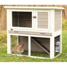 Trixie's Rabbit Hutch w/Sloped Roof - Web Exclusive Sale - Featured Products - PetSmart