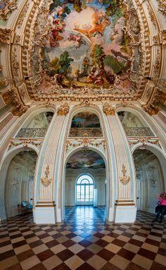 Inside Schloss Nymphenburg (Vertorama) by Hussain Shah on 500px Munich, Germany