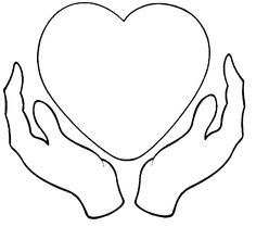 Hand Clipart, Free Clipart Images, Chibi Hands, Emoji Coloring Pages, Cupped Hands, Logo Design, Graphic Design, Web Design, Heart Template