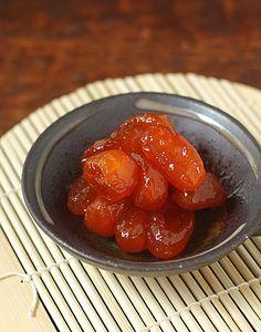 Kinkan Kanro-ni (Japanese Candied Kumquats) with Panna Cotta — La Fuji Mama