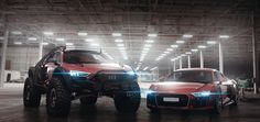 Audi R8 beast mood 4x4 | A new RALLY dakar idea? | DRIVETRIBE