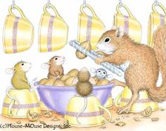 """Monica, Mudpie, Maxwell and Amanda featured on The Daily Squeek® for May 26th, 2015. Click on the image to see it on a bunch of really """"Mice"""" products."""