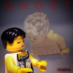 Lego G H O S T classic movie poster | by wingtorn