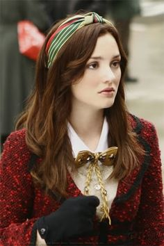 Blair Waldorf was my style icon when I was 18