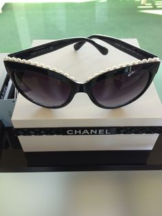 Chanel with pearls