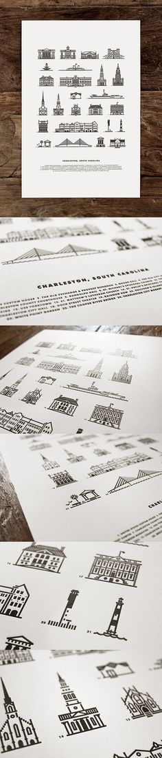 Charleston Illustrations (made by J Fletcher Design).