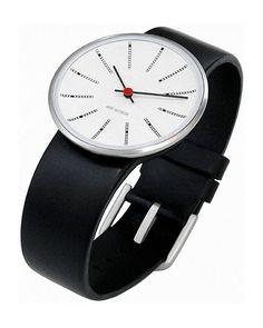 Rosendahl Banker's 34mm Wrist Watch by Arne Jacobsen