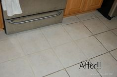 simple grout cleaner.