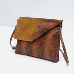 COMBINED CLUTCH BAG from Zara