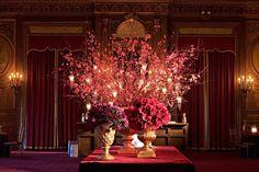 Ravishing Red by FRANK ALEXANDER NYC #redwedding #weddingcolors #weddings