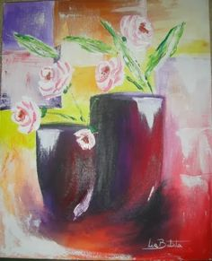 Eco Arte-Lia Batista: Pintura acrílica
