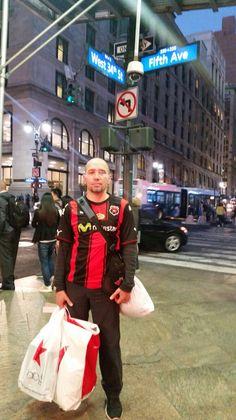 La Liga presente en la Quinta Avenida de Nueva York