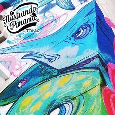 2/9 Arte urbano #muralpanama #panamadesigncenter #artepanama #adissonhousepanama #mosaico #ilustrandopanama #thinkomarketing #thinkers
