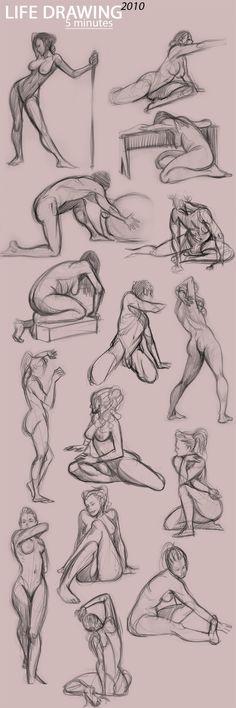 Aprenda a desenhar #2: Corpo Humano – Pipoca Com Bacon